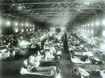 Post WW1 Influenza Hospital
